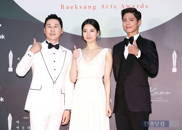 [포토] 신동엽-수지-박보검, '백상의 얼굴들'(백상예술대상)