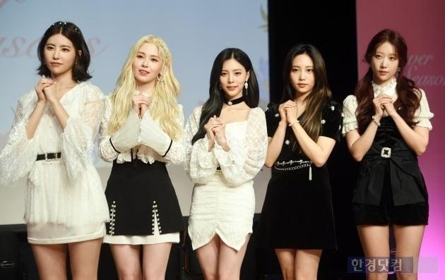 그룹 다이아, 정채연·솜이 제외 5인조로 컴백 /사진=최혁 기자