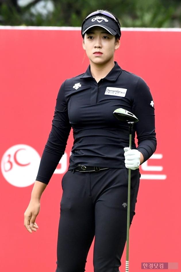 [BC카드·한경 레이디스컵 2020] 이재윤, '신중한 눈빛'