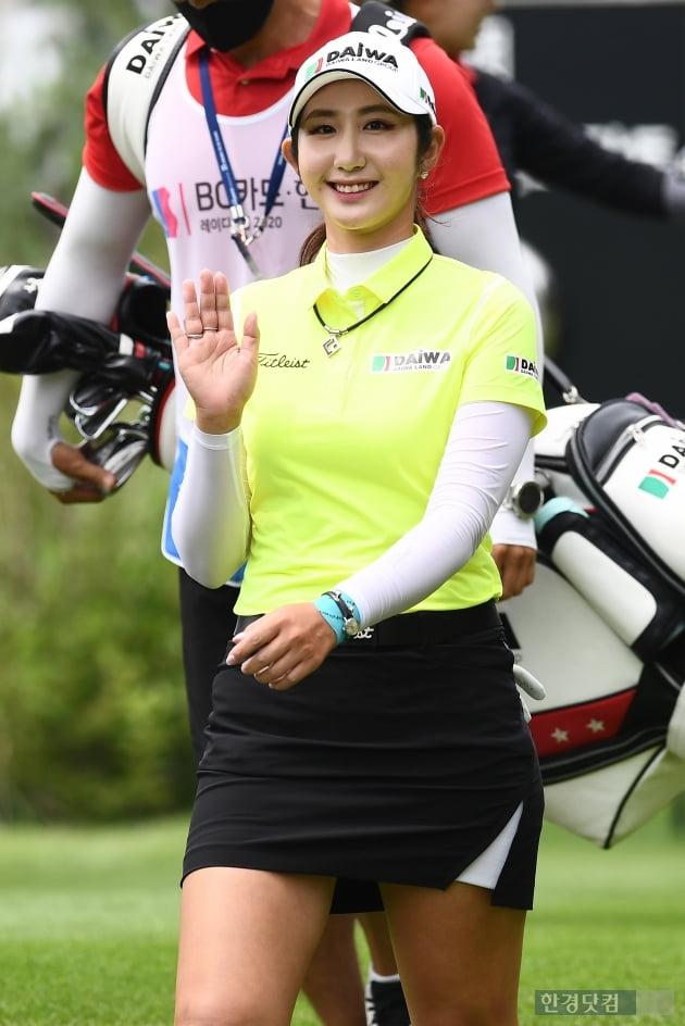 [BC카드·한경 레이디스컵 2020] 배선우, '환한 미소~'