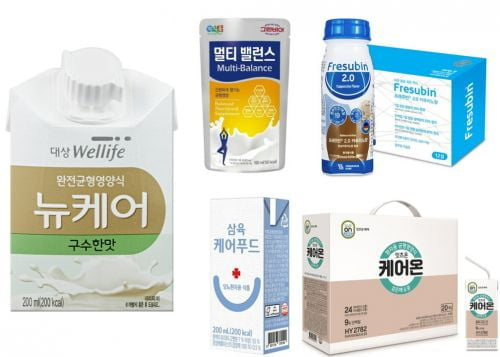 건강기능식 '케어푸드' 인기몰이,..바쁜현대인, 꽉찬영양을 간편하게!