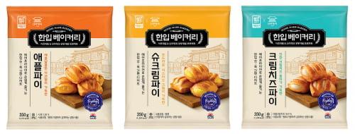 사조대림,    냉동 베이커리 '한입 베이커리' 3종 출시