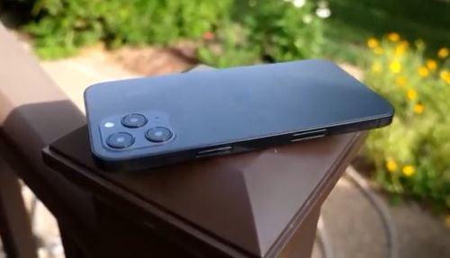 아이폰12 시리즈, 실제 디자인 적용한 더미 동영상 등장