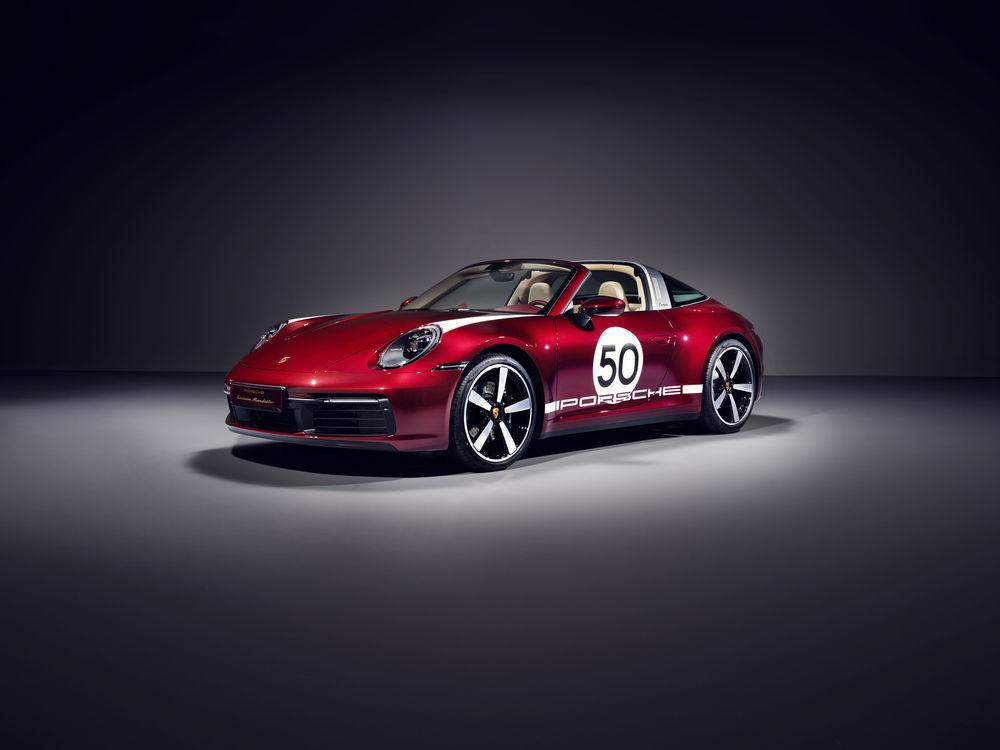 포르쉐, 레트로 감성 입힌 911 타르가 4S 한정판 공개