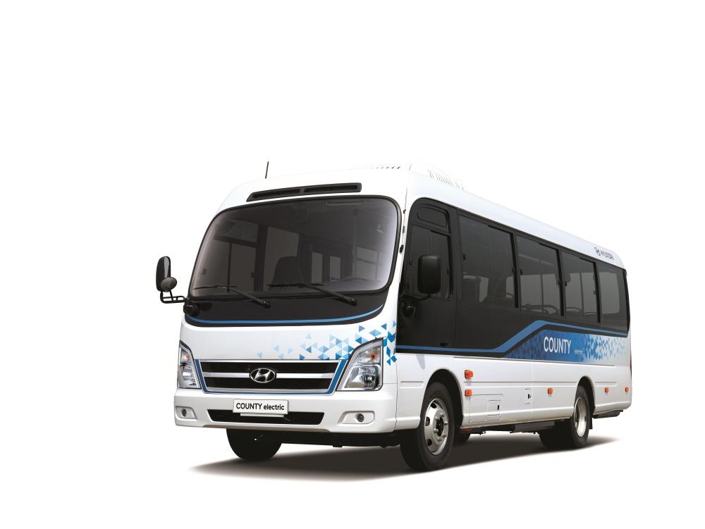 현대차, 중형 전기버스 '카운티 일렉트릭' 출시