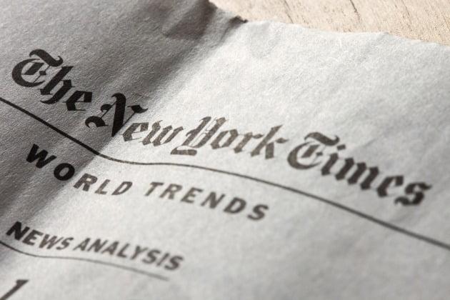 신종 코로나바이러스 감염증(코로나19) 여파로 미국의 주요 언론사인 뉴욕타임스(NYT)도 직원 68명을 해고하기로 했다./사진=게티이미지