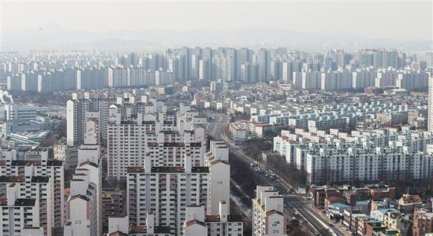 경기도 수원시의 아파트 단지(자료 연합뉴스)