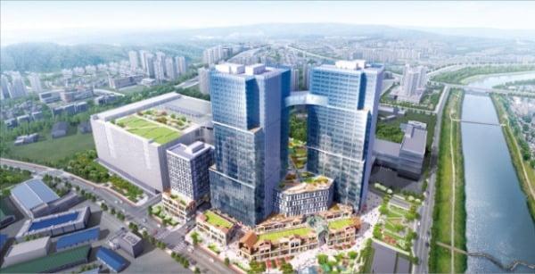 현대 테라타워 CMC, 전국 최대 규모 대형 지식산업센터