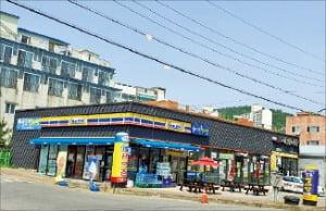 경북 구미시 먹자거리 코너 단층 상가