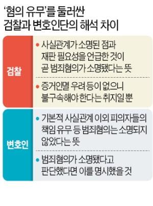 """""""사실관계 소명됐다""""는 법원…삼성은 """"범죄혐의 인정 안된 것"""""""