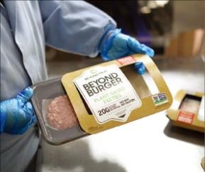 美 육류공장 폐쇄에 뜬 '식물성 고기'…비욘드미트, 해외 매출 50배 대박