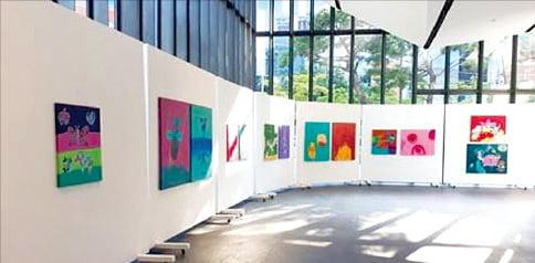 '래미안갤러리'에서 진행한 회화전.  삼성물산 제공