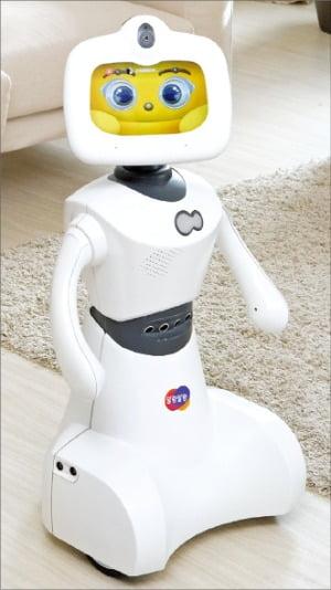 자회사 한컴로보틱스의 홈서비스 로봇 '토키'