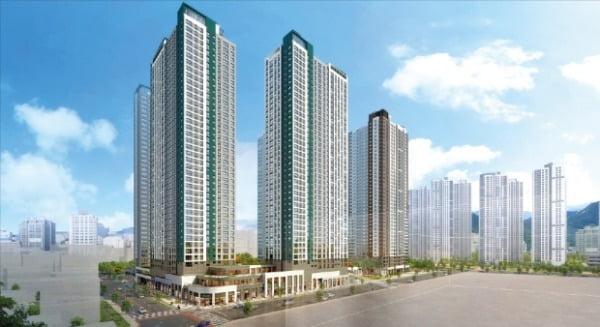 화서역 푸르지오 브리시엘, GTX-C 역세권…녹지 풍부한 '공원형 아파트'