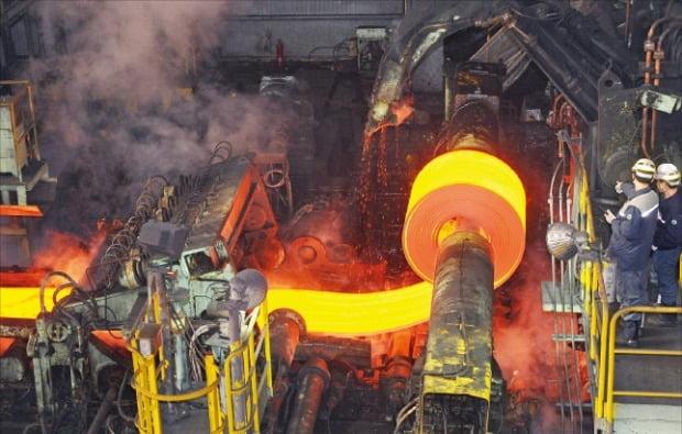 현대제철 당진제철소 열연강판 공장.  /현대제철 제공