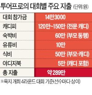 프로 선수도 돈 내고 대회 나간다…캐디피·식비 등 최소 290만원