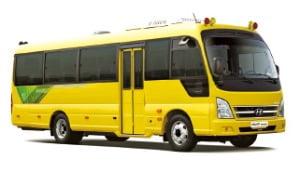 현대차, 국내 첫 중형 전기버스 출시