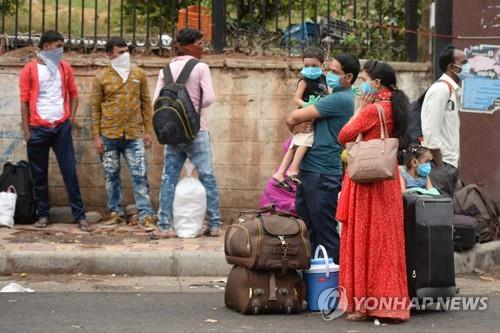 인도 누적 확진 19만명, 프랑스·독일 넘어…세계 7번째로 많아