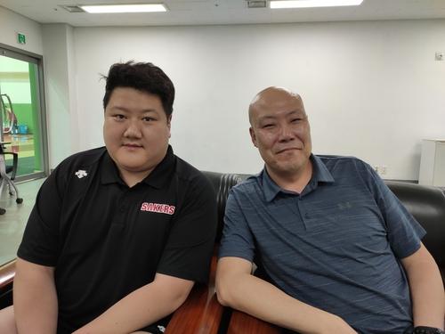 프로농구 인기 카메오 박도경·채성우 '농구 알리는 역할 뿌듯'