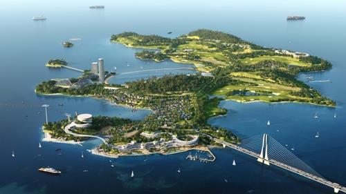 여수 경도 어떻게 바뀌나…아시아 최고 해양리조트로 변모