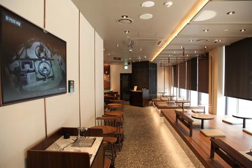 서울 소공동에 환구단 디자인으로 새단장한 스타벅스 개점