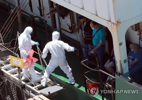 러시아 선사, 확진 사실 알고도 韓방역당국에 늑장통보 정황