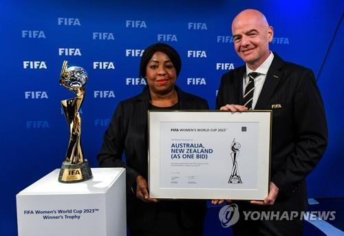 2023년 FIFA 여자 월드컵, 호주·뉴질랜드서 개최