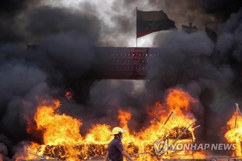 태국·미얀마, 압수 마약 2조4천억원어치 25t 소각