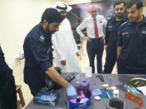 경찰청·코트라, UAE에 지문채취 과학수사 장비 수출