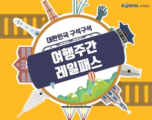 KTX 최대 70% 할인 '여행주간 레일패스' 인기