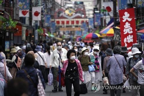 일본 코로나19 신규 확진 110명…이틀 연속 100명대(종합)