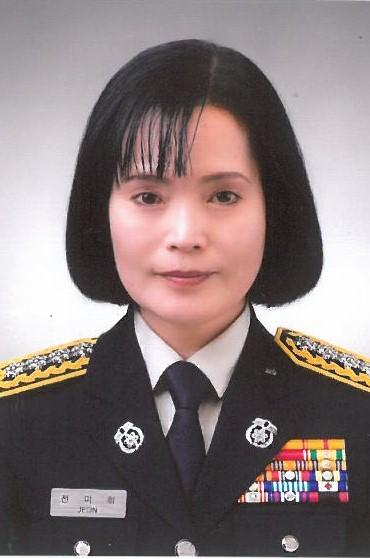 전북 28년만 첫 여성 소방서장…전미희 익산소방서장