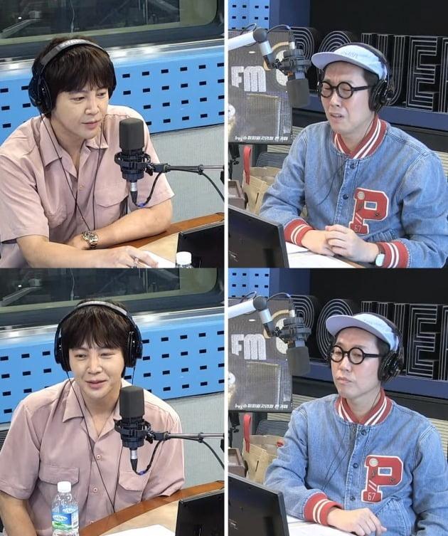 SBS 파워FM '김영철의 파워FM' 방송화면. /사진=SBS