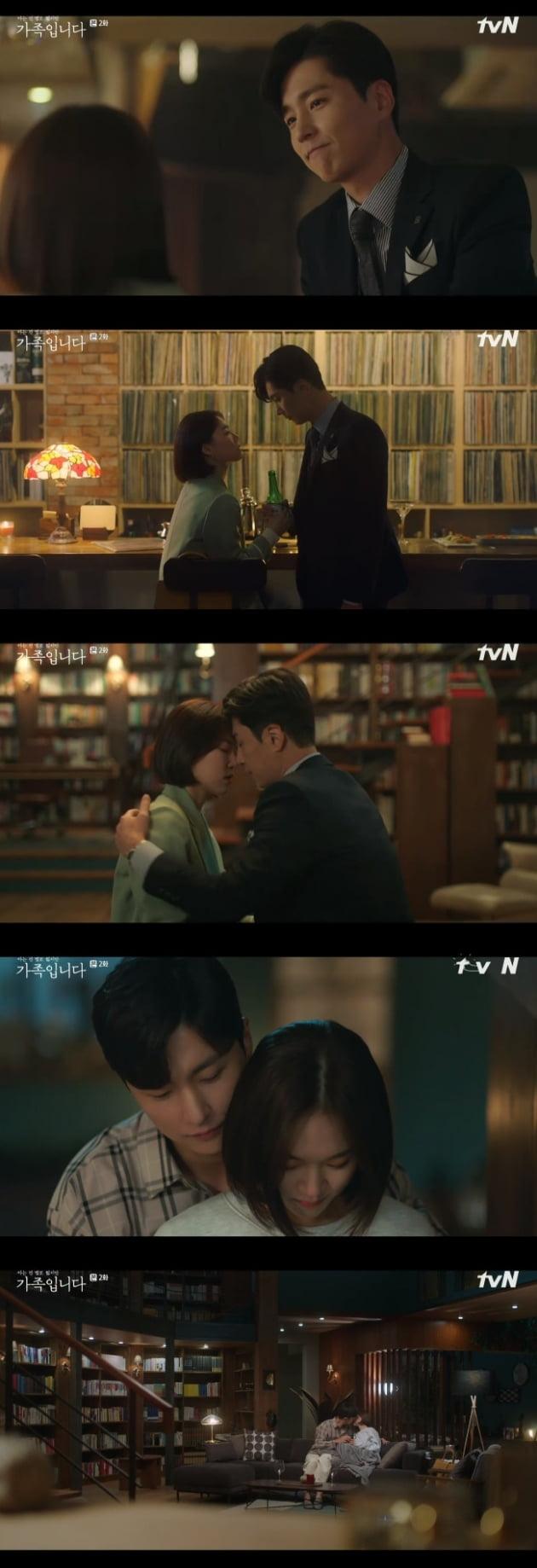 '가족입니다' 한예리 신동욱 / 사진 = tvN 영상 캡처