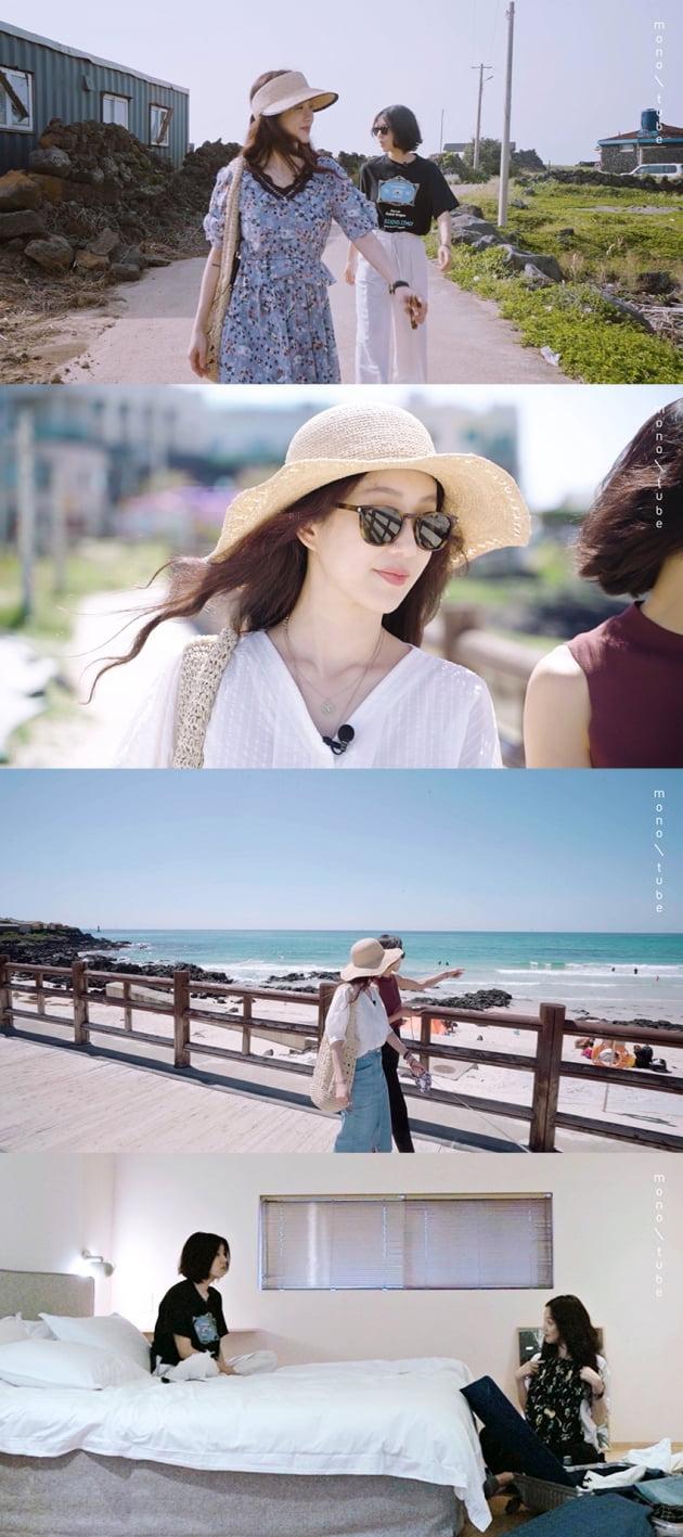 '정려원X임수미, me&one'./ 사진제공=모노튜브