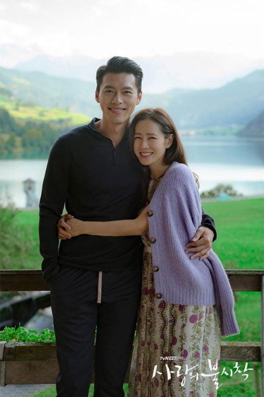'사랑의 불시착' 현빈(왼쪽), 손예진/ 사진=tvN 제공