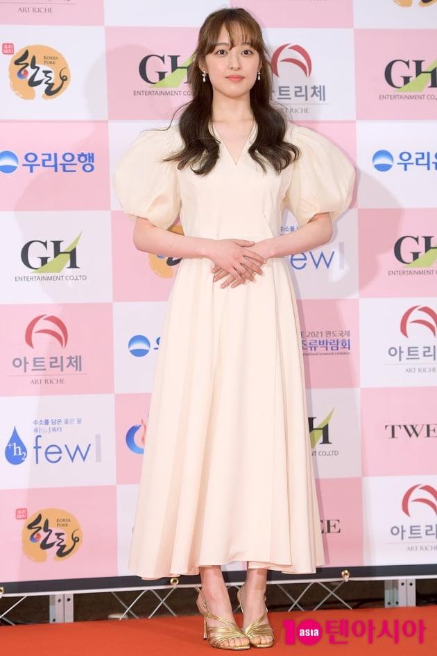 [TEN 포토] '대종상 영화제' 김보라, '여신같은 드레스 자태'