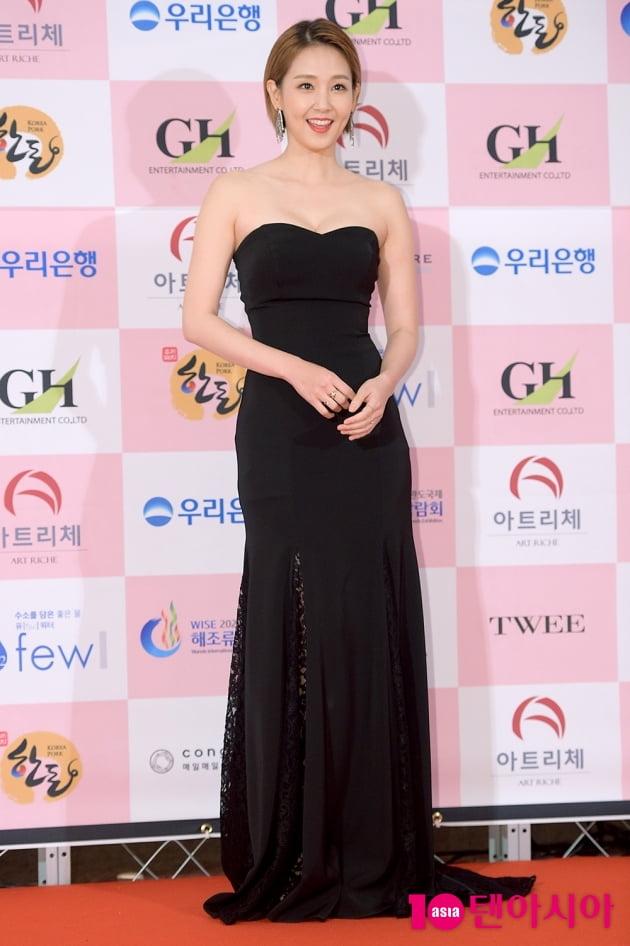 [TEN 포토] '대종상 영화제' 오정연, '기분 좋은 미소로'