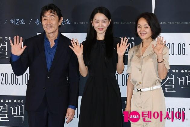 [TEN 포토] 허준호-신혜선-배종옥 '결백 기다려주셔서 감사합니다'