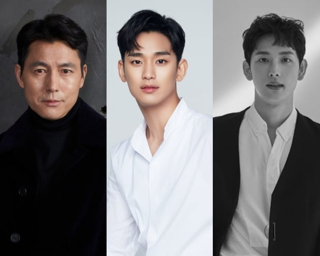 배우 정우성, 김수현, 임시완