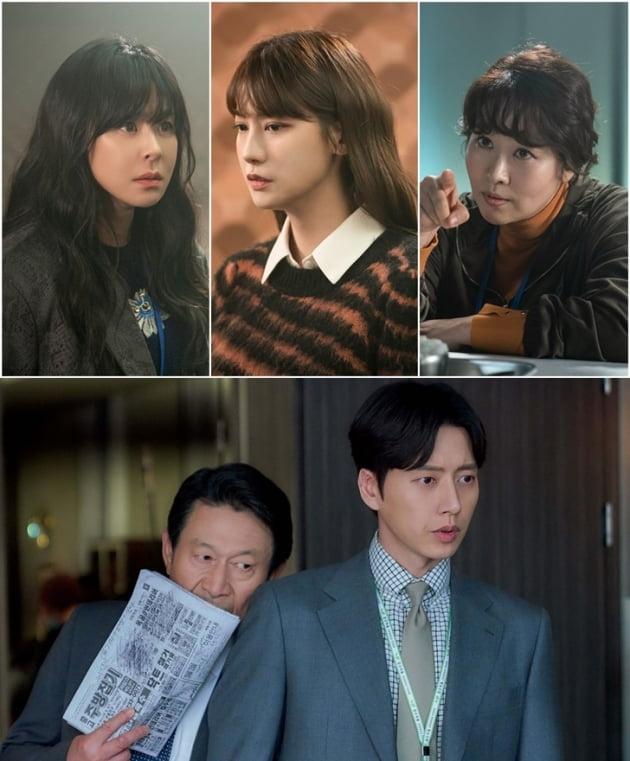 드라마 '굿캐스팅'(위)와 '꼰대인턴' 스틸컷/ 사진=SBS, MBC 제공