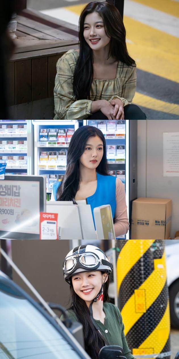 '편의점 샛별이' 김유정 스틸컷/ 사진=SBS 제공