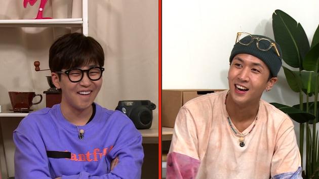 가수 딘딘(왼쪽), 라비/  사진=KBS2 제공