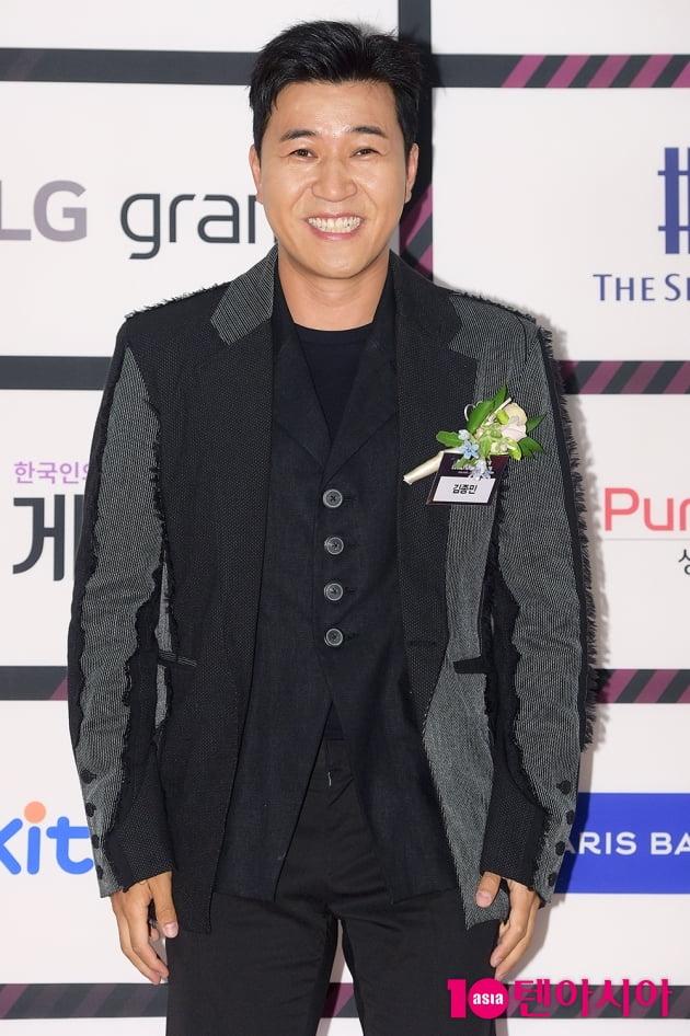 [TEN 포토] 김종민 '언제나 웃는 얼굴'