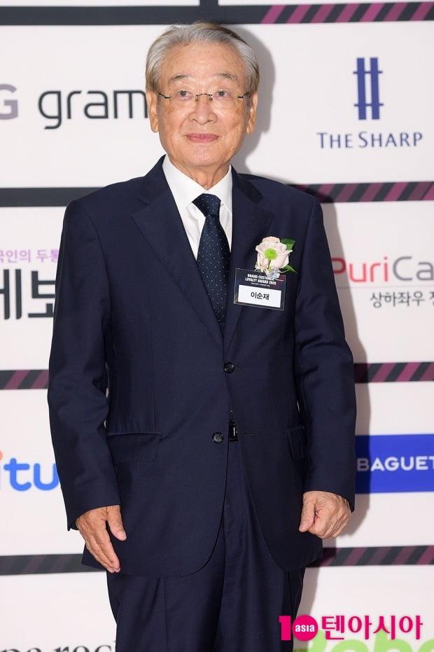 [TEN 포토] 이순재 '믿고 보는 국민 배우'