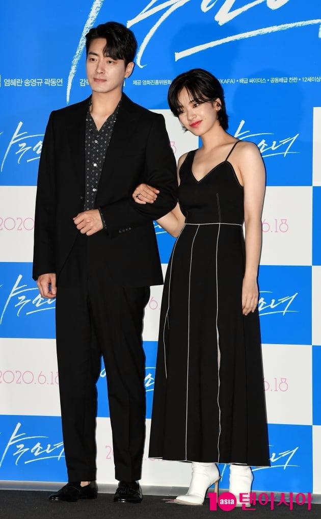 [TEN 포토] '야구소녀' 이준혁-이주영 '우아한 블랙스완 커플'
