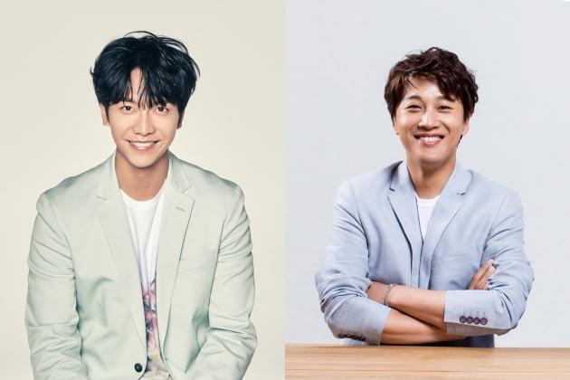 배우 이승기(왼쪽), 차태현/ 사진=tvN 제공