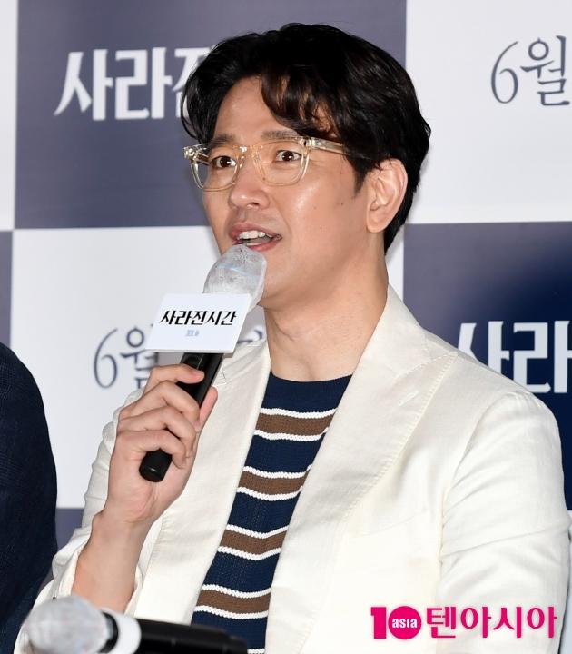 "[TEN 포토] '사라진 시간' 배수빈 ""촬영이 즐거웠어요"""
