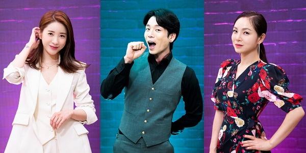 가수 서인영(왼쪽부터), 이창민, 왁스/ 사진=SBS플러스 제공
