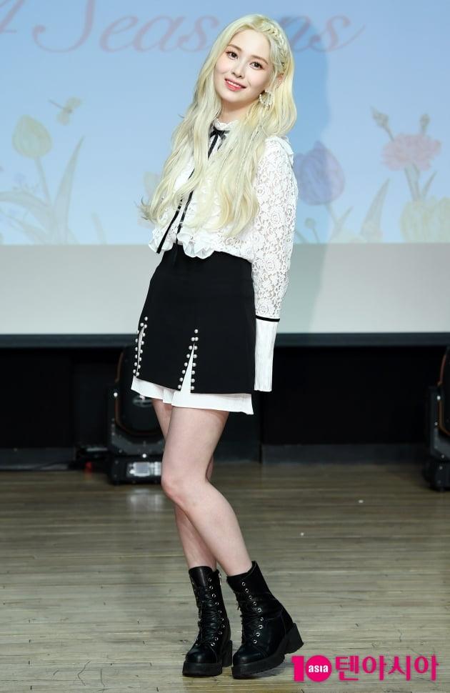 [TEN 포토] 다이아 예빈 '금발도 이쁘네~'